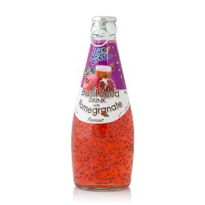 Jus Cool Basil Seed Drink with Pomegranate (300 ml)