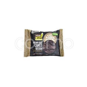 Rice Up Brown Rice Cakes With Belgian Dark Chocolate 30g