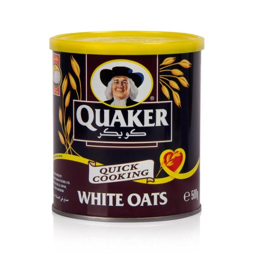 Quaker Quick Cooking White Oats (500 g)