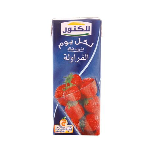 Lacnor Strawberry Fruit Drink (180 ml)
