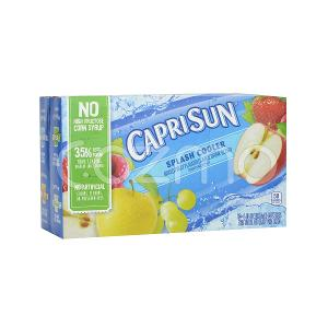 Caprisun Splash Cooler Mixed Fruits Juice 10x177ml Pack