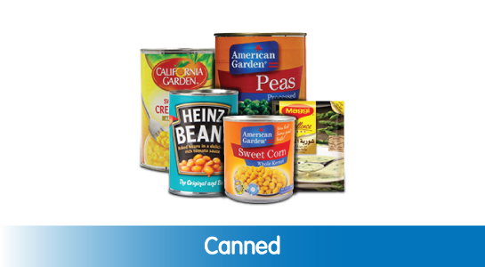 Canned Food & Soups