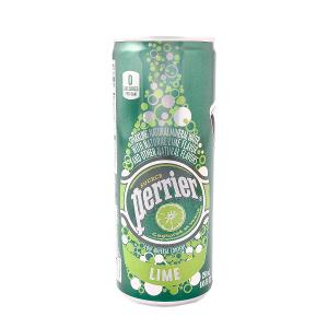 Perrier Lime Sparkling Mineral Water 250ml