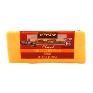 American Heritage Natural Mild Cheddar Cheese 227g