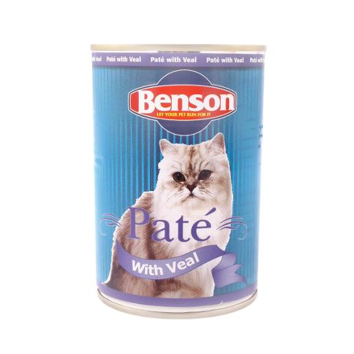 Benson Cat Pate with Veal 400g