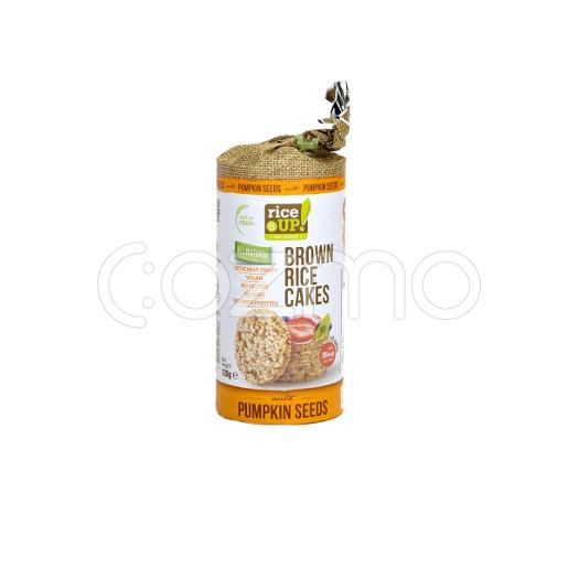 Rice Up Brown Rice Cakes With Pumpkin Seeds 120g