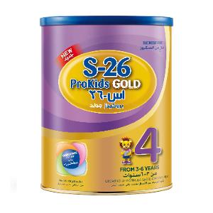Nestle Wyeth S-26 Prokids Gold Stage 4, 3-6 Years 900g