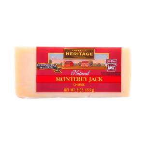 American Heritage Natural Monterey Jack Cheese 227g