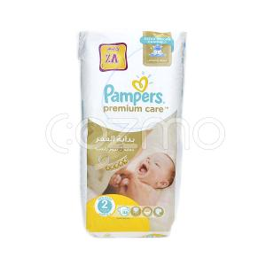Pampers Premium Care Diapers Size 2 - 46 Pcs