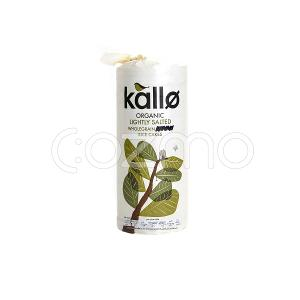 Kallo Organic Lightly Salted Rice Cakes 130g