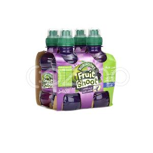 Robinsons Apple & Blackcurrant Fruit Shoot 4x200ml Pack