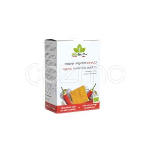 Bioitalia Garlic & Chilli Pepper Crackers 250g