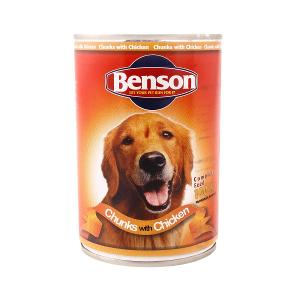Benson Dog Chunks with Chicken