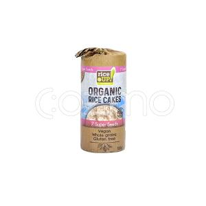 Rice Up Organic Rice Cakes 7 Super Seeds 120g