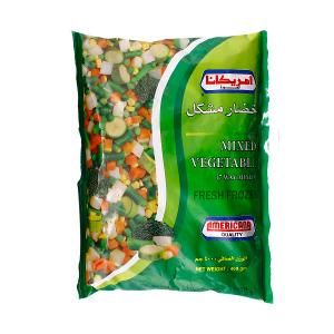 American Mixed Vegetables (7 way mixed) 400g