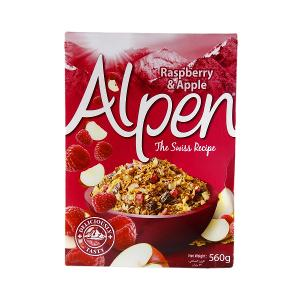Alpen Raspberry & Apple Cereal 560g