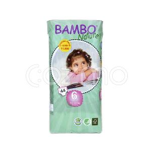 Bambo Nature Xl Size 6, 16 - 30 Kg, 44 Diapers