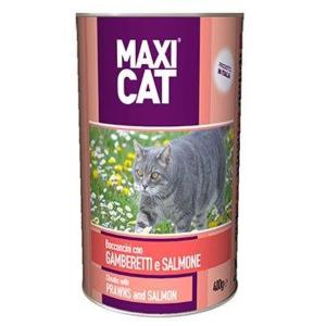 Maxi Cat Chunks with Prawn & Salmon (400 g)
