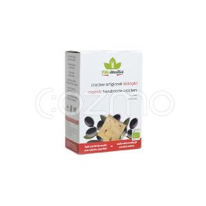 Bioitalia Black Olives Crackers 250g