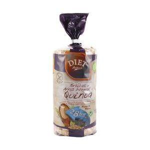 Diet Radisson Whole Rice Quinoa Cakes (130g)