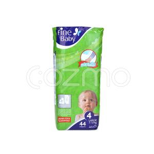 Fine Baby Mother's Touch Lotion, Size 4, Large, 7 - 17 Kg, 44 Diapers