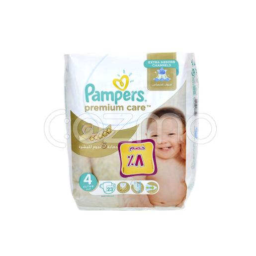Pampers Premium Care Diapers Size 4 Maxi - 23 Pcs