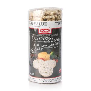 Pomo Rice Cakes with Leen Seeds (145 g)