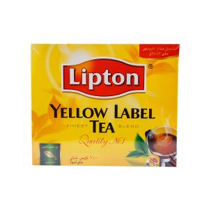 Lipton Yellow Label Tea (100 Tea Bags)