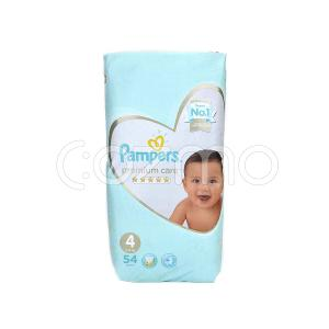 Pampers Premium Care Diapers Size 4 - 54 Pcs