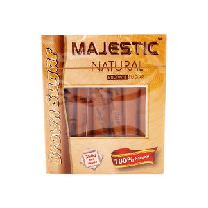 Majestic Brown Sugar Sachets (350 g)