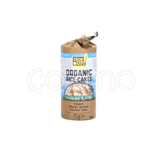 Rice Up Organic Rice Cakes With Amaranth & Millet 120g
