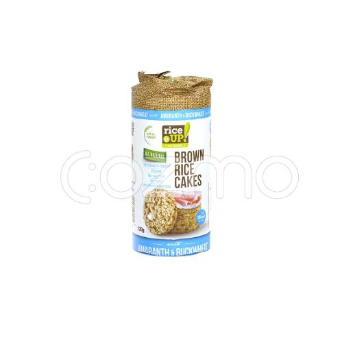 Rice Up Brown Rice Cakes With Amaranth & Buckwheat 120g
