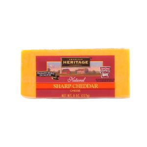 American Heritage Natural Sharp Cheddar Cheese 227g