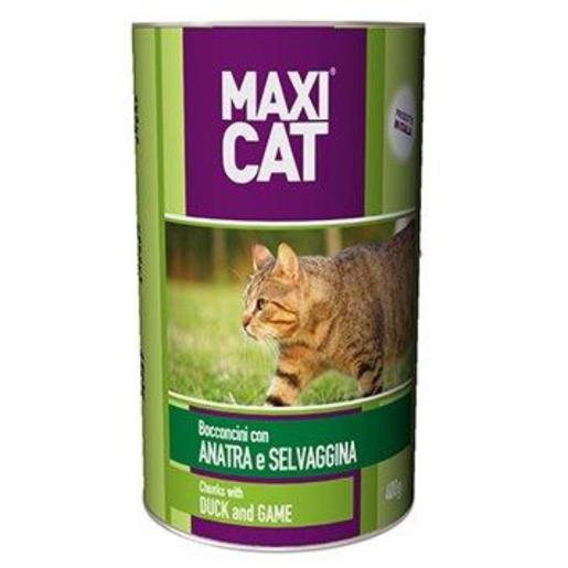 Maxi Cat Chunks with Duck & Game (400 g)