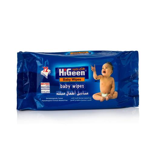 HiGeen Baby Wipes (72 pcs)