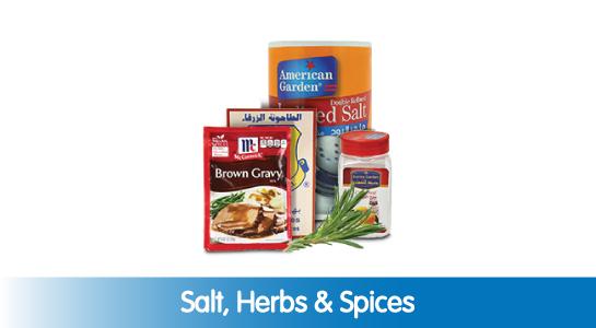 Salt, Herbs & Spices