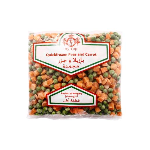 Hy Top Peas & Carrot Frozen (400 g)