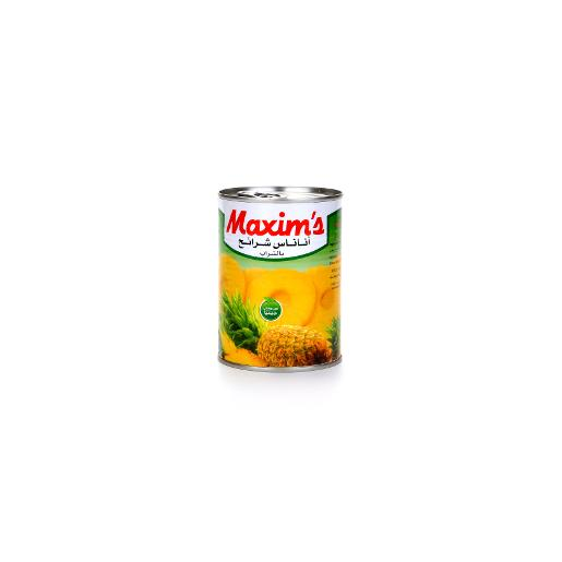 Maxim's Sliced Pineapple In Syrup 565g