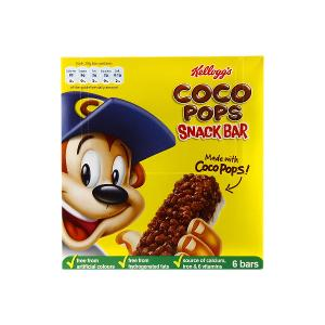 Kellogg's Coco Pops Snack Bar (6 Bars x 20 g)