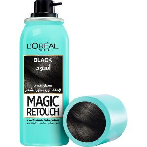 Magic Retouch - Instant Root Concealer Spray Black - 75 ML