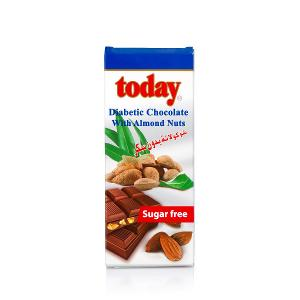 Today Diabetic Chocolate with Almond Nuts (65 g)
