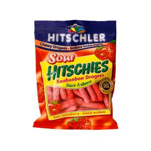 Hitschler Sour Hitchies Candy Strawberry (125 g)