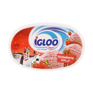 Igloo Ice Cream Strawberry (1 ltr)