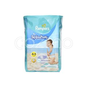 Pampers Splasher Diaper - Size 4 To 5 - 11 Pcs