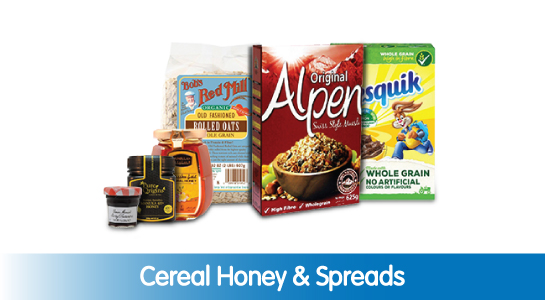 Cereal Honey & Spreads