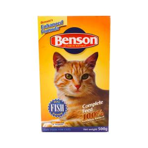Benson Cat Food Fish Flavour 500g