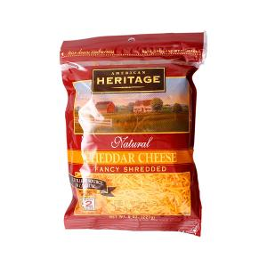 American Heritage Cheddar Cheese Fancy Shredded 227 g