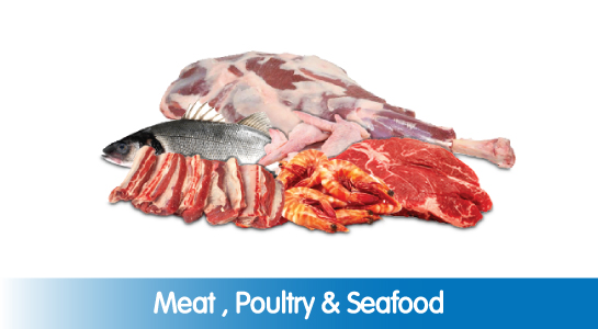 Meat , Poultry & Seafood
