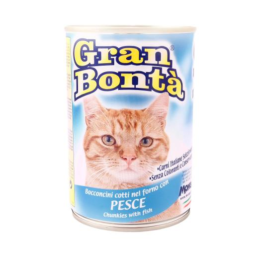 Gran Bonta Cat Food with Fish (400 g)