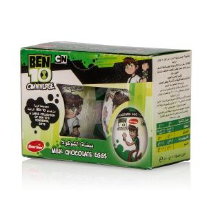 Sweetoon Ben10 Milk Chocolate Eggs (2 pcs, 20 g)